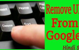 Remove URL feature photo