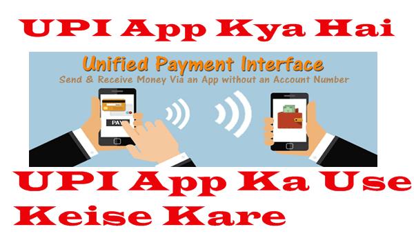UPI App Kya Hai